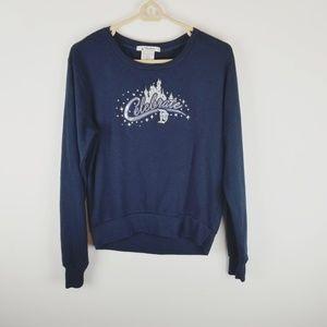 Disney celebration castle sweatshirt medium